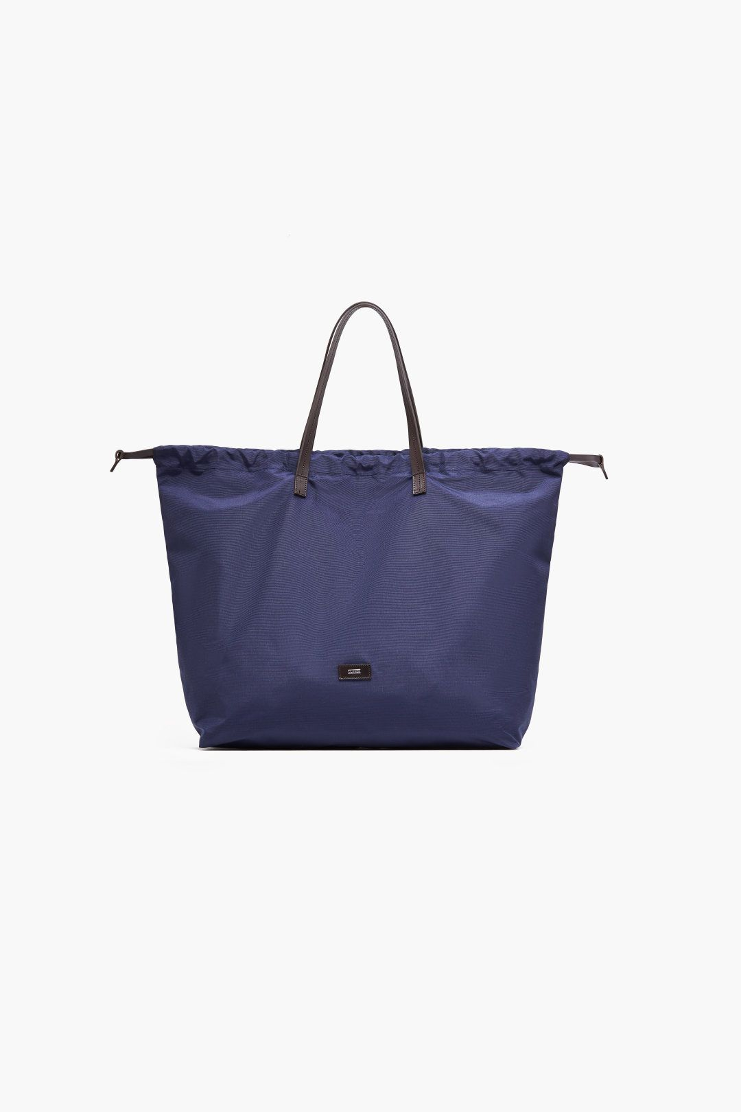 Nylon Bag With Leather Details Made Of High Quality German