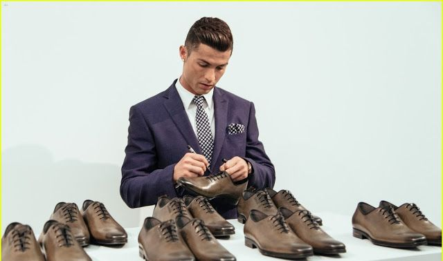 Cristiano Ronaldo Launched CR7 Collection | Top10s-World