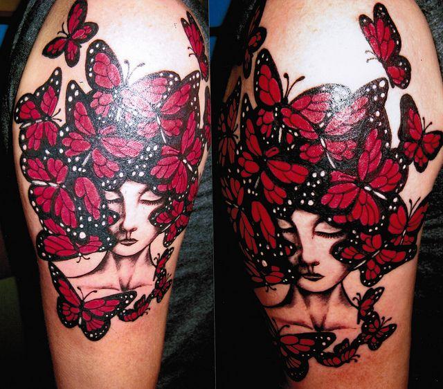 butterflyred   Ink   Austin tattoo artists, Austin tattoo, Tattoos