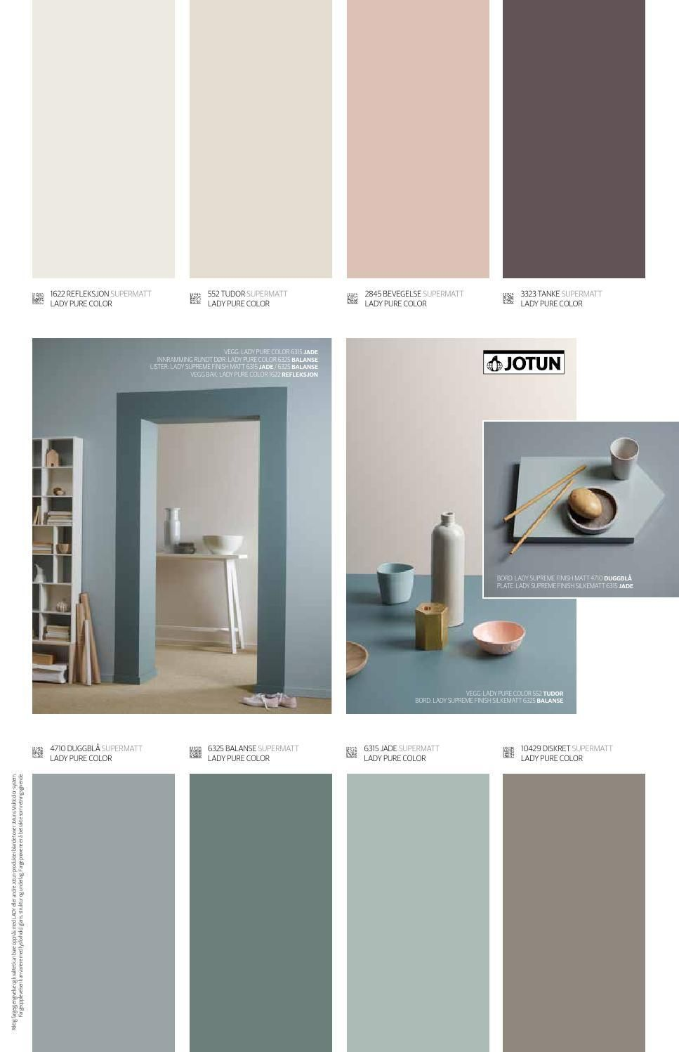 Photo of Jotun LADY Pure Color – Einrichtungsideen