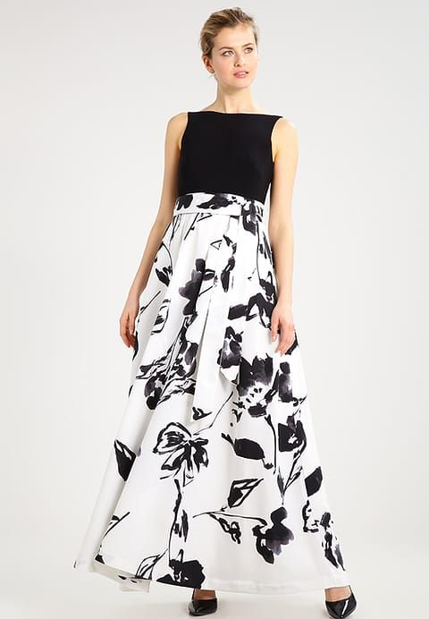 0afaebfa83f258 Kleding Lauren Ralph Lauren AGNI - Maxi-jurk - colonial cream black multi  Gebroken wit  € 299
