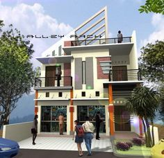 gambar rumah dan toko minimalis   rumah, desain rumah