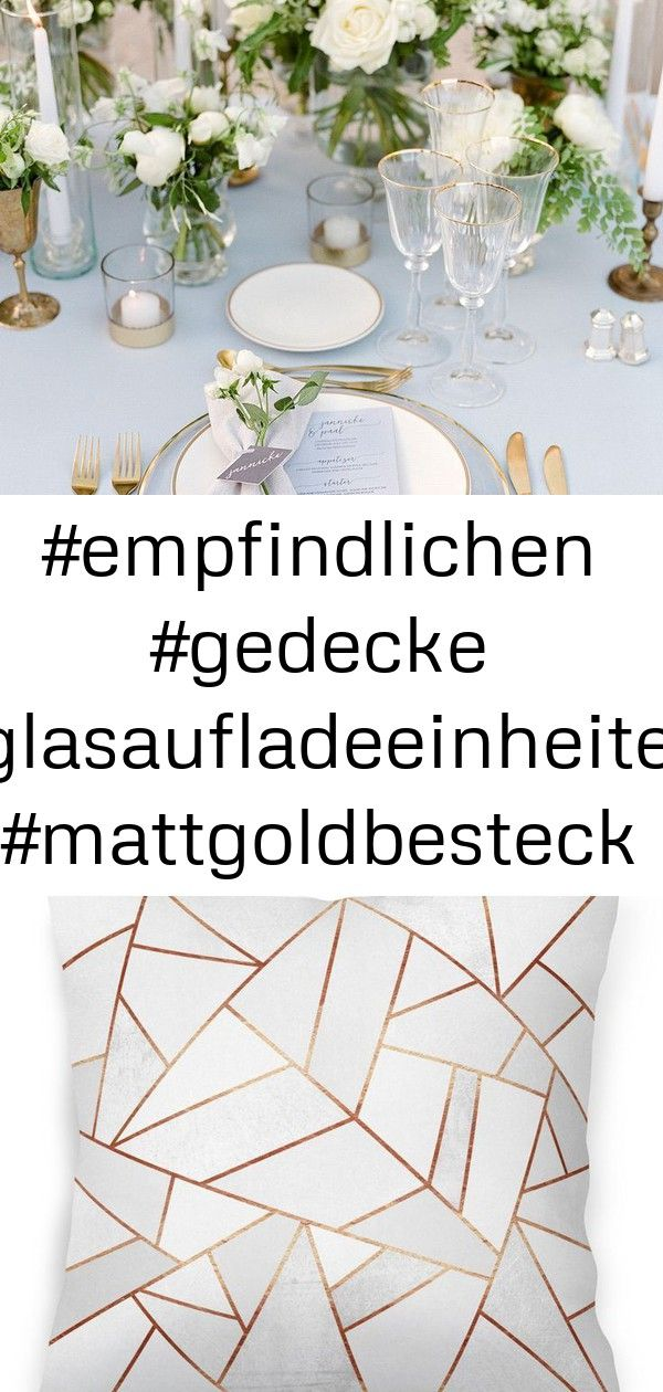 #empfindlichen #gedecke #glasaufladeeinheiten #mattgoldbesteck #schlossen #tulpe #die #empfindlichen #geisterbasteln