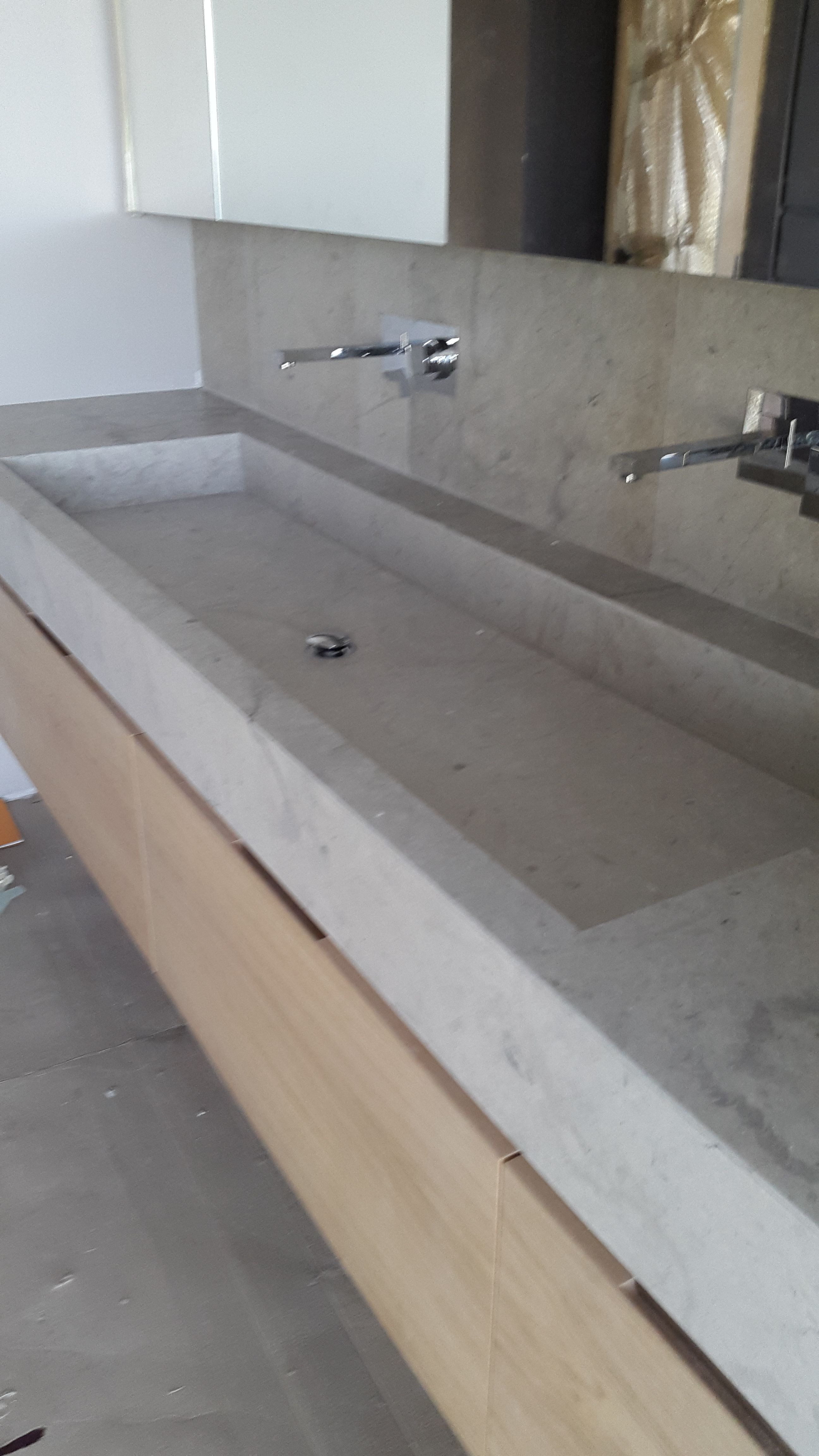 Plan Vasque En Pierre plan vasque en pierre effet massif | vasque pierre, plan