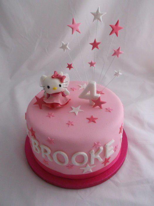 Hello Kitty Cake Cake by Susie Girls cakes Pinterest Hello