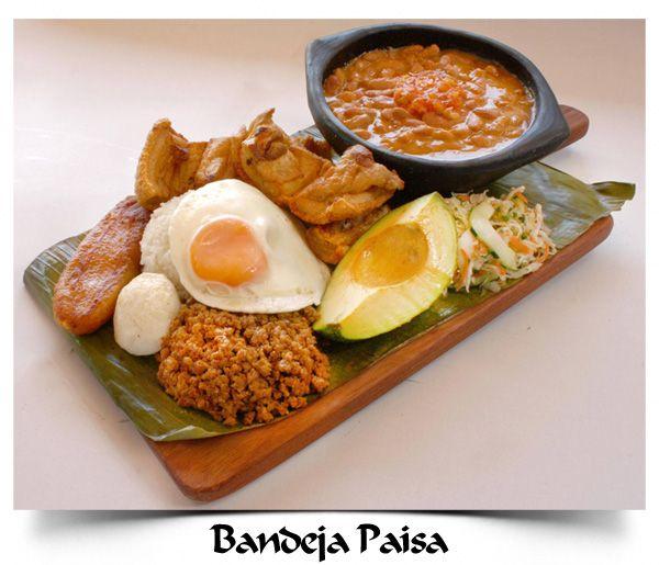 La Barra Restaurante - Bandeja Paisa #Cali #Colombia