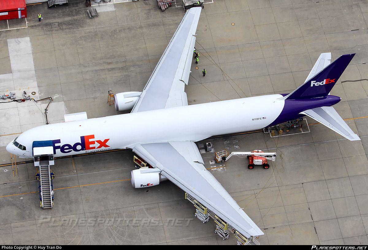 Airline Federal Express (FedEx) Registration N119FE