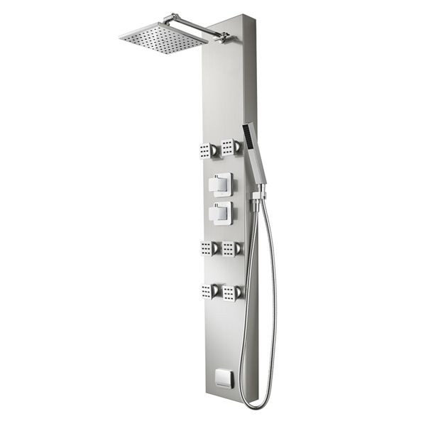 Shop Pfister 5 Way Stainless Steel Shower Panel System At Loweu0027s Canada.  Find Our