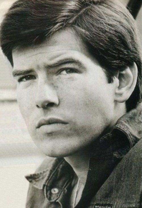 Pierce Brosnan in his youth