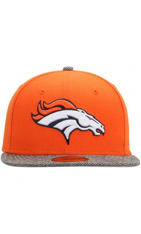 99fd5900c NFL Men's Denver Broncos New Era Orange Premium 59FIFTY Fitted Hat #football  #sportshat