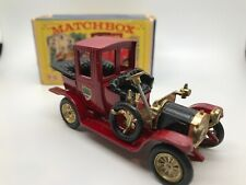 VINTAGE MATCHBOX MODELS OF YESTERYEAR Y11 1912 PACKARD