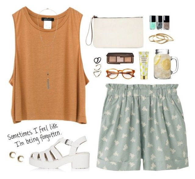 """""""""""A girl and her bed on Sunday are an endless love affair"""" -Unknown"""" by are-you-with-me ❤ liked on Polyvore featuring Uniqlo, AERIN, STELLA McCARTNEY, Hourglass Cosmetics, Pieces, Dorothy Perkins, Monki, Chanel, LowLuv and Summer"""