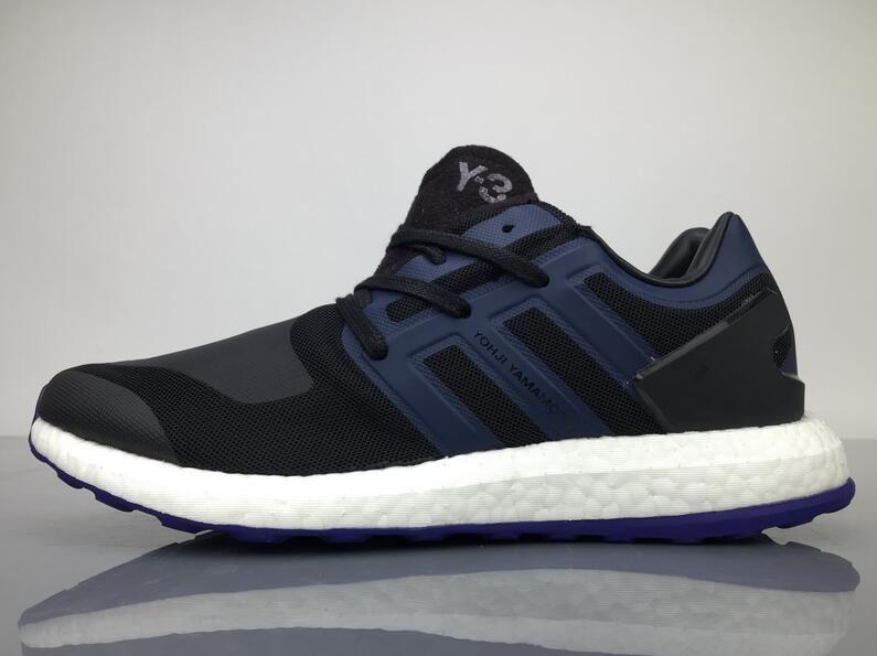 1d1629d941b85 Adidas Pure Boost Y-3 Yohji Yamamoto Black Blue BY8956 Sneaker for Sale1