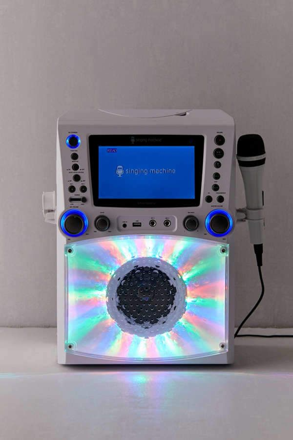 Singing Machine Bluetooth Karaoke Machine