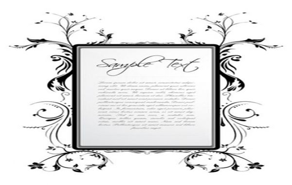 Floral frame by Vector Fresh, ,Free Vector by Vector Fresh License: Attribution ID: 320317