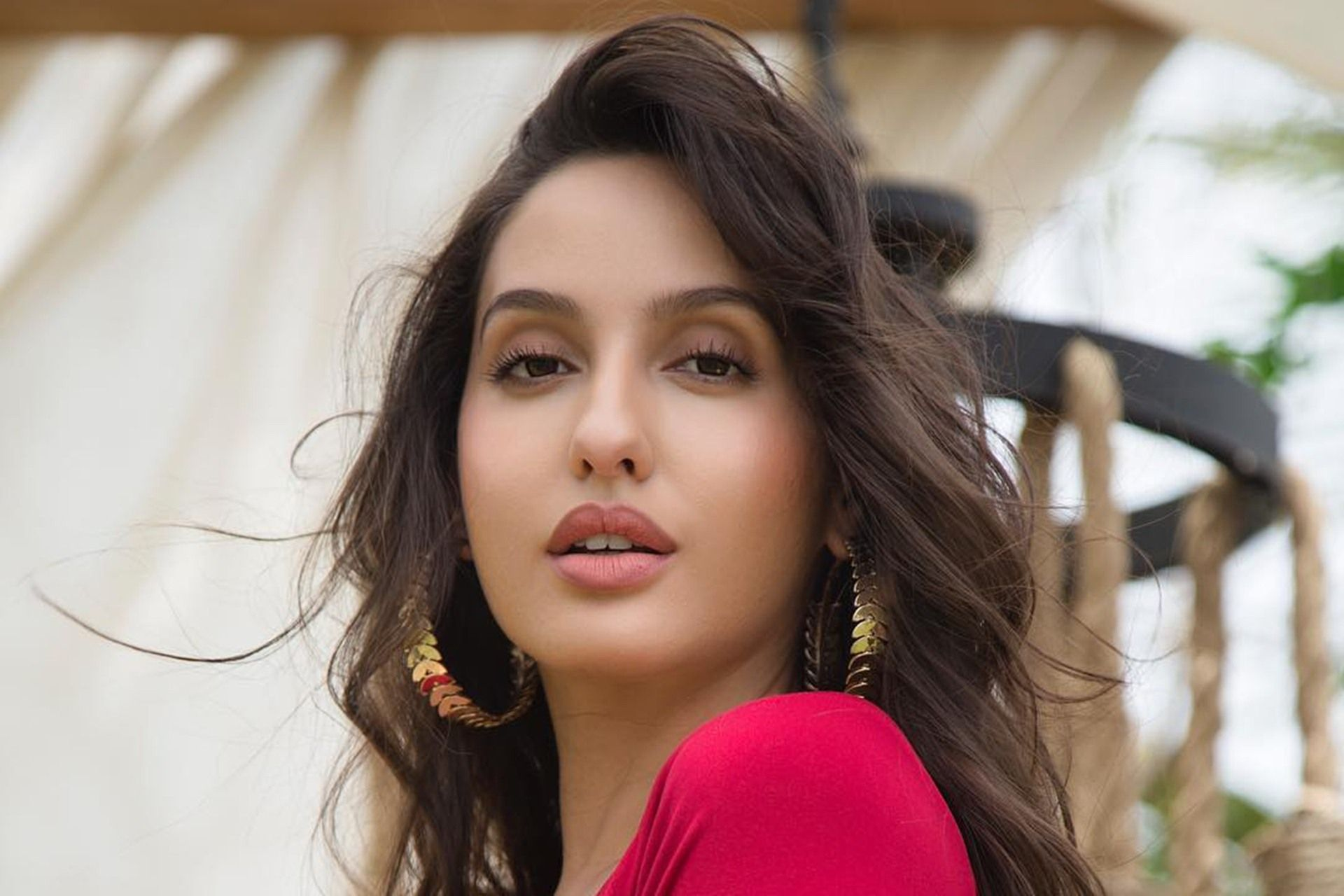 Nora Fatehi HD Background Wallpaper 36527 Nora lovely
