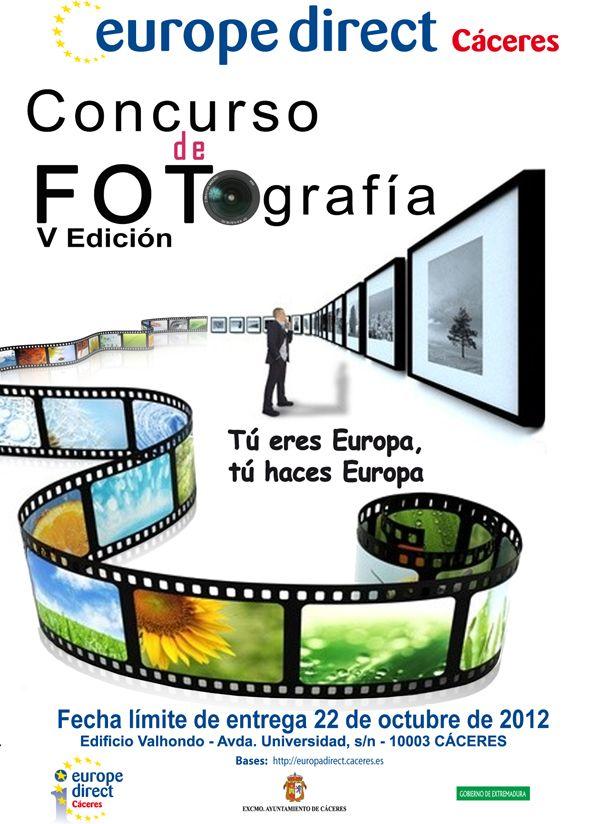 """V Concurso de Fotografía """"Tú eres Europa, Tú haces Europa"""" 2012"""