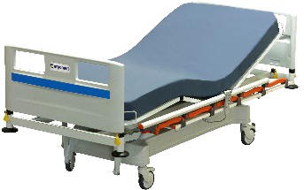 Free 3d Models Medical Equipment Hospital Bed Bed Lights Blue Sheets