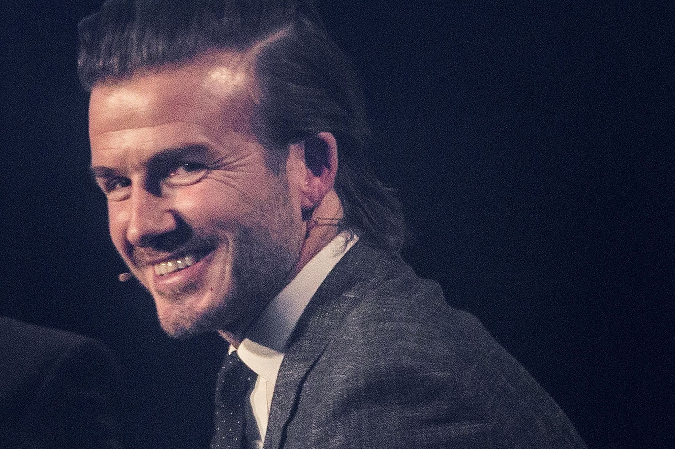 Manchester United star David Beckham 'pines for Manchester', telling riveted audience he 'will always miss it' #spotonentertain