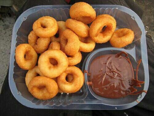 For the love of donuts and nutella!