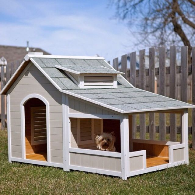 A dog house with a porch. Big enough for 1 solar panel!! Hehe