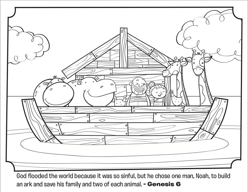Noah S Ark Colouring Page Free Printable Bible Coloring Pages Bible Coloring Sheets Bible Coloring