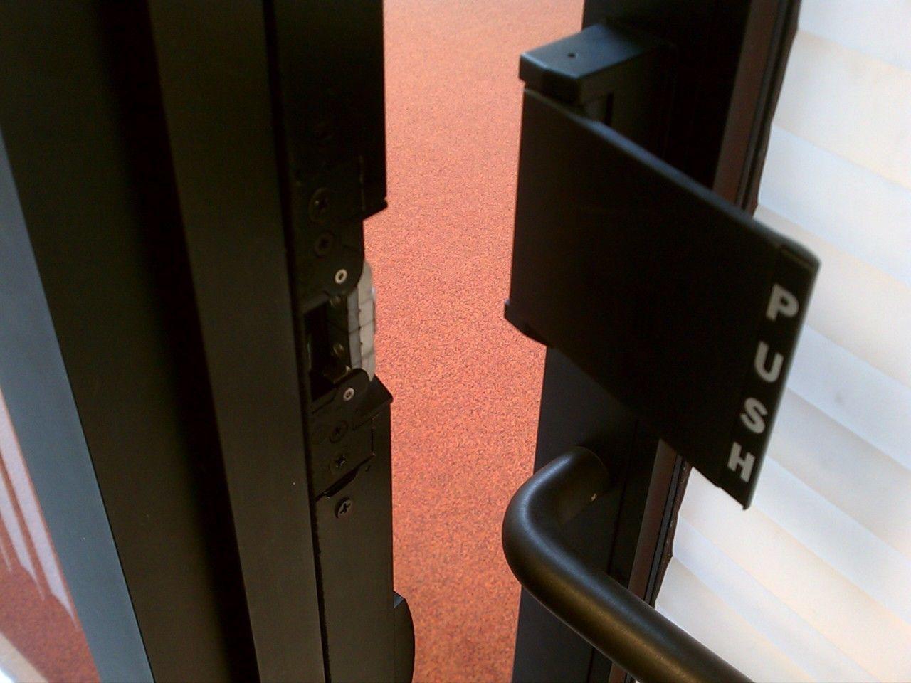 We Have Installed A Adams Rite Push Paddle Mag Lock On A Business In Winston Salem Nc Mobile Locksmith Winston Salem Lock Repair