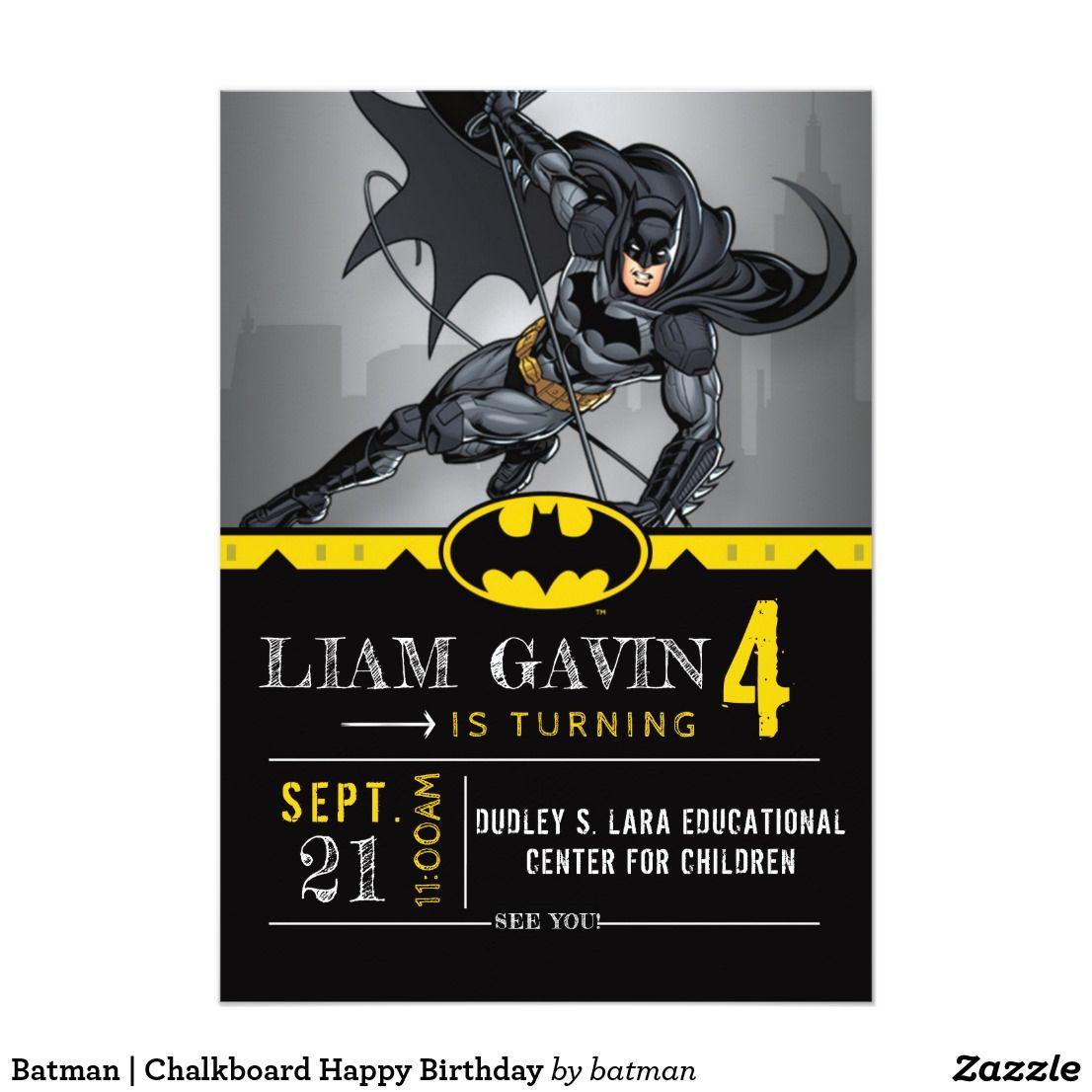 Invitation With Images Batman Invitations Batman Birthday