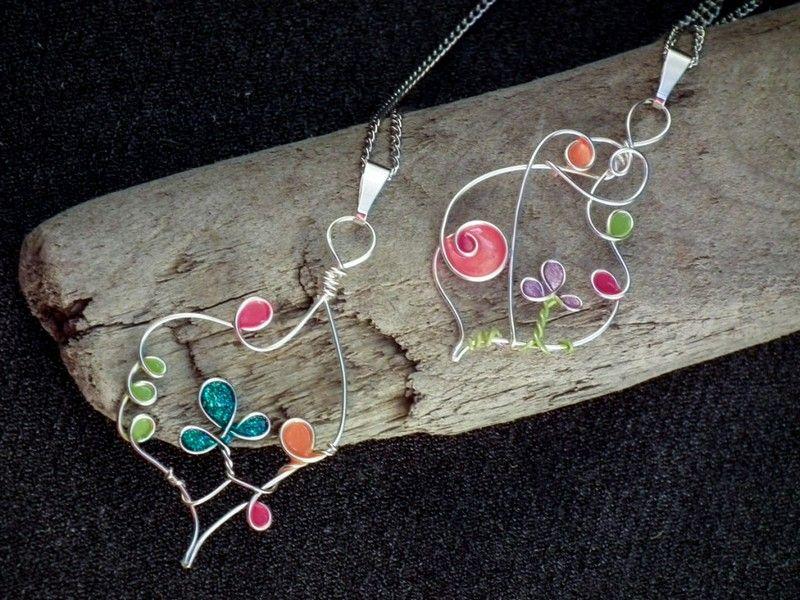 fabriquer des bijoux fantaisie et pendentif original avec motifs ...
