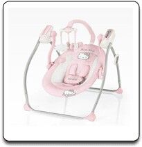 Adorable Baby Swing Hello Kitty Hello Kitty Baby Hello