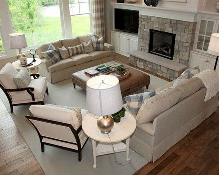 20 Cozy Living Room Arrangement Ideas images