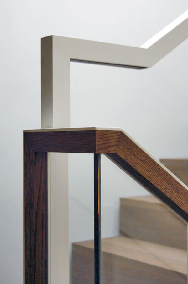 NUOVOSTUDIO · CASA FM - RAVENNA | Railing | Interior stairs ...