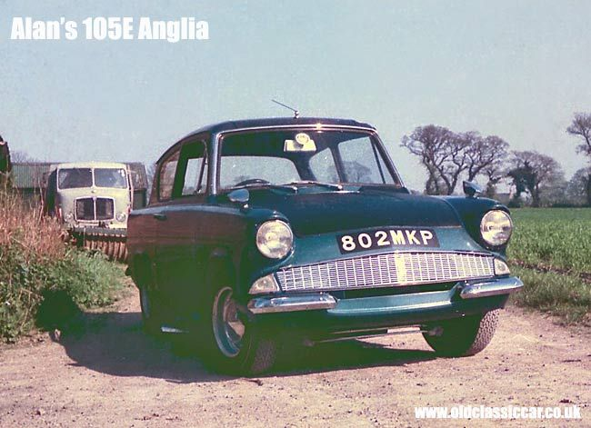 Modified Ford Anglia 1960s Ford Anglia Vintage Cars Vintage