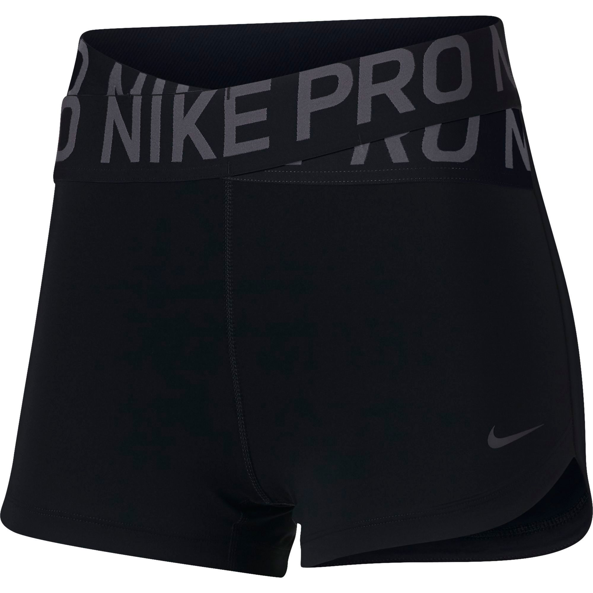 Nike Women S 3a Intertwist Shorts Black Sporty Outfits Nike Outfits Nike Spandex Shorts