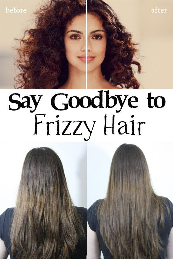 Say Goodbye To Frizzy Hair Frizzy Hair Tips Hair Care Frizzy Hair Solutions