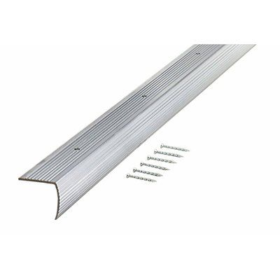 Shop M D Building Products M D Silver Fluted Stair Edging At Loweu0027s Canada.  Find Our Selection Of Floor Trim At The Lowest Price Guaranteed With Price  Match ...