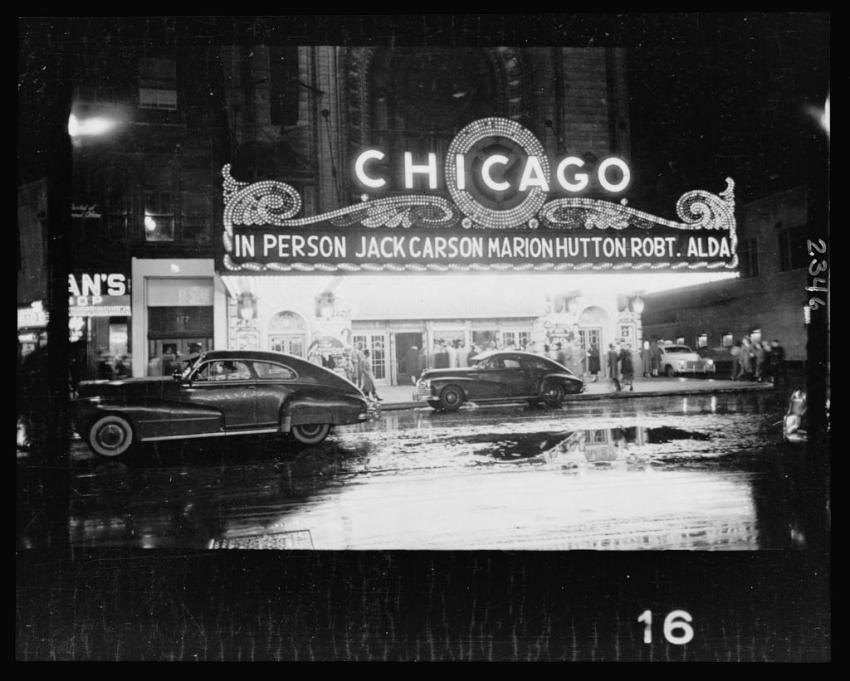 Chicagoer Theater  seen by buero-ka.com