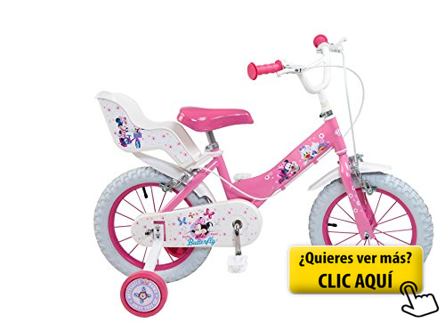 Toimsa 611 Bicicleta Mickey Club House 12 Niña Bicicleta Childrens Bike Kids Toy Shop Tricycle