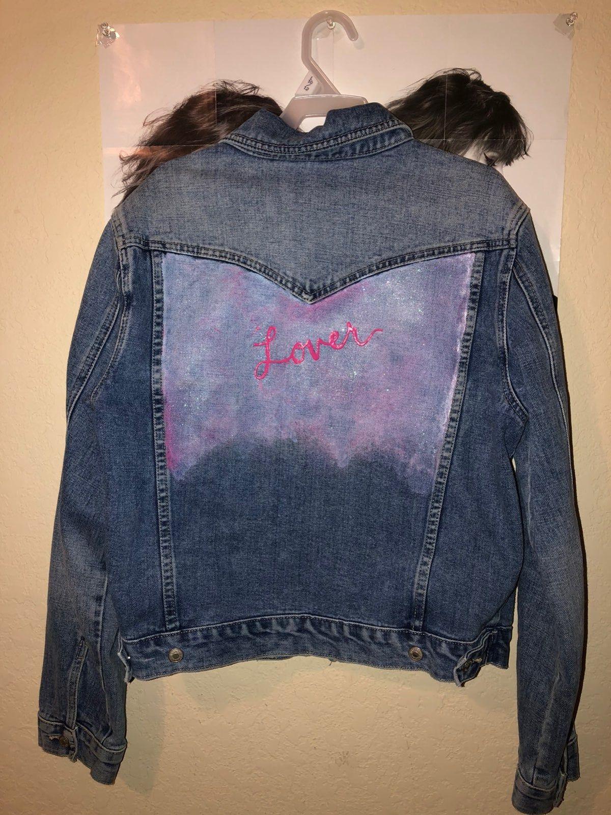 Taylor Swift Lover Jean Jacket Taylor Swift Merchandise Jackets Jean Jacket Diy [ 1601 x 1200 Pixel ]