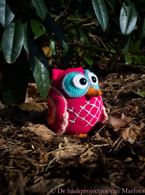 Cute owl... Amigurumi... Diy... Crochet... https://www.etsy.com/nl/listing/229463138/crochet-pattern-lola-the-owl-amigurumi