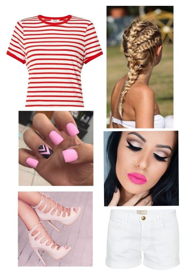 """""""Summer already #3"""" by rasberry893 on Polyvore featuring Miss Selfridge and Current/Elliott"""