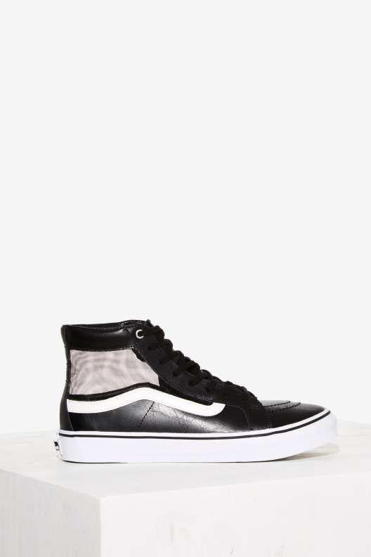 8307749cf5b Vans Mesh Sk8-Hi Slim Cutout Sneaker - Sneakers
