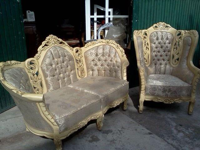 Salas luis xv recib victoria 2 1 1 fabricamos muebles for Muebles antiguos luis xv