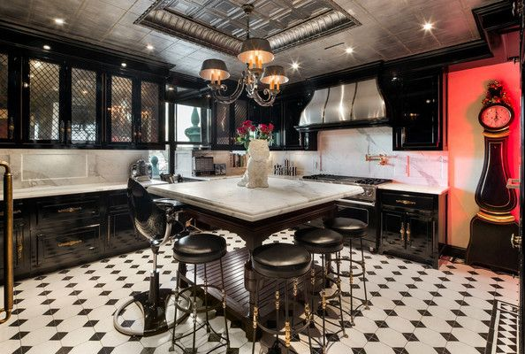 A Cook's Fantasy - Tommy Hilfiger's Penthouse Kitchen at the Plaza Hotel