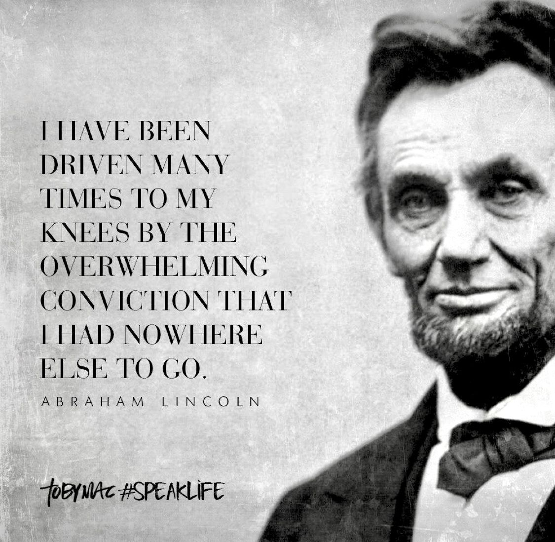 Tony Mac Speaklife Lincoln Quotes Abraham Lincoln Quotes