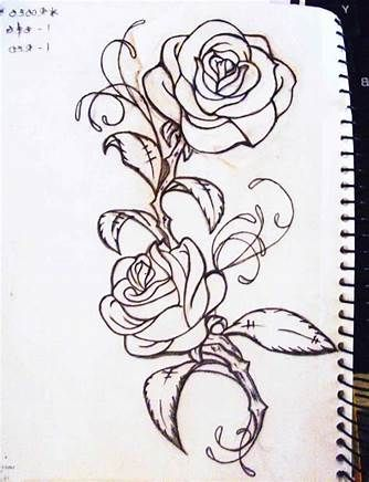 See related image detail | Rose vine tattoos, Vine tattoos, Tattoo stencil outline