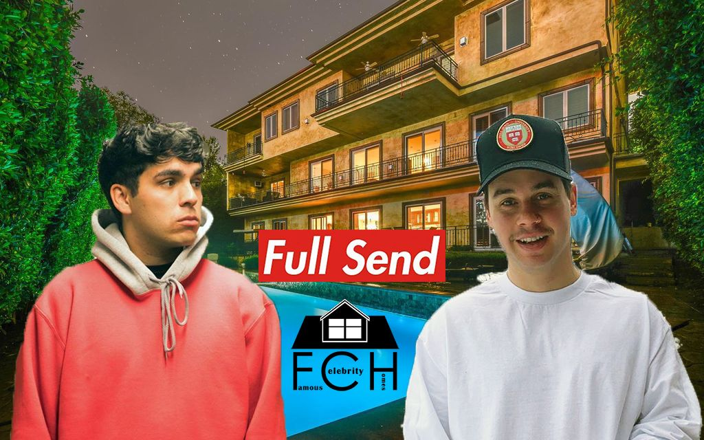 The Full Send House Is Being Rented For A Ton Of Money By The Nelk Boys And Steve Will Do It Take A Look Inside Their New Mansion Celebrity Houses Boys 1,520 likes · 1 talking about this. the full send house is being rented for