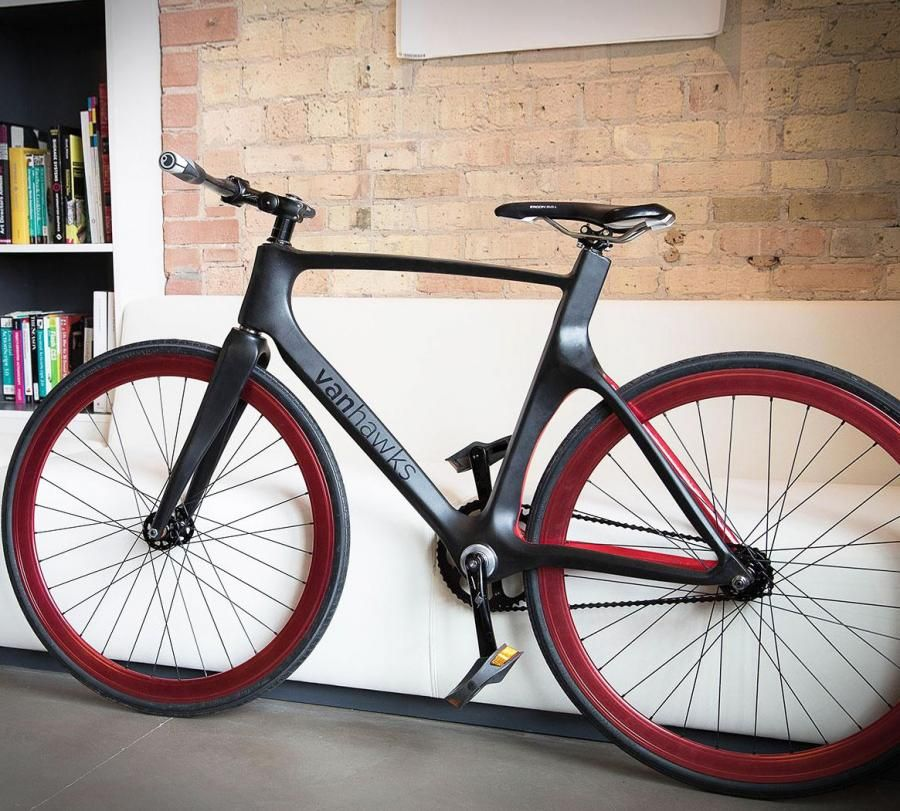 Smart Bike Made From Carbon Fiber | Carbon fiber, Bicycling and Fixie