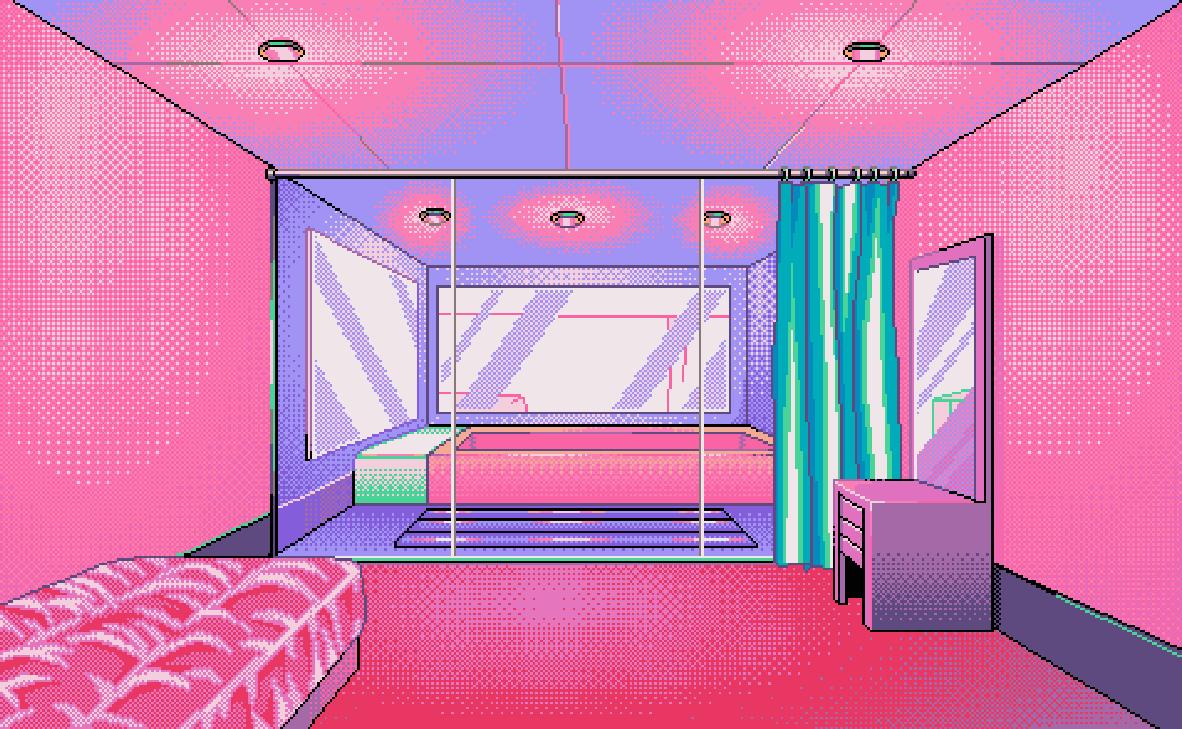 Neon nightlife 8 16 bit stuff retro video games etc for 8 bit room decor
