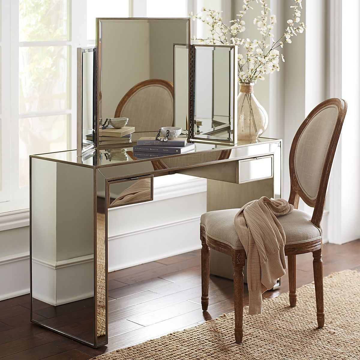 Alexa Mirror Vanity Pier 1 Imports Mirrored Vanity Table